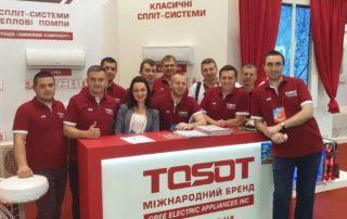 Звіт роботи команди Tosot Україна про виставку AQUATHERM 2019!